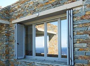 Ξύλινα παράθυρα Sylor